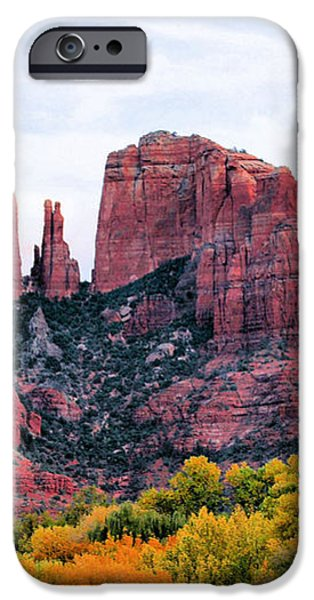 Cathedral Rock iPhone Case by Kristin Elmquist