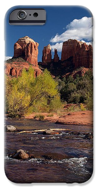 Cathedral Rock Sedona iPhone Case by Joshua House