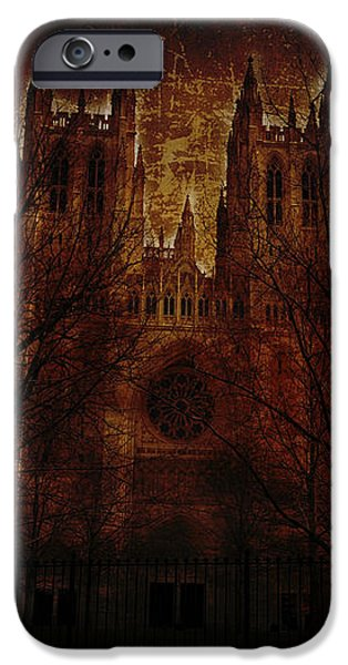 Eerie iPhone Cases - Caught up in the Rapture iPhone Case by Shelley Neff