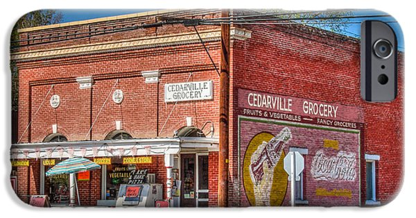 Americana Photographs iPhone Cases - Cedarville California Grocery Store iPhone Case by Scott McGuire
