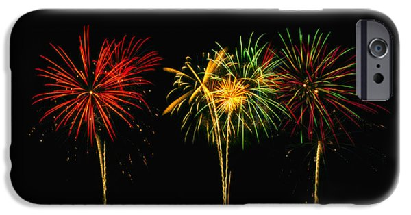 4th July Photographs iPhone Cases - Celebration iPhone Case by James Heckt