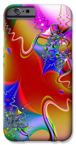 Celebration . Square . S16 iPhone Case by Wingsdomain Art and Photography