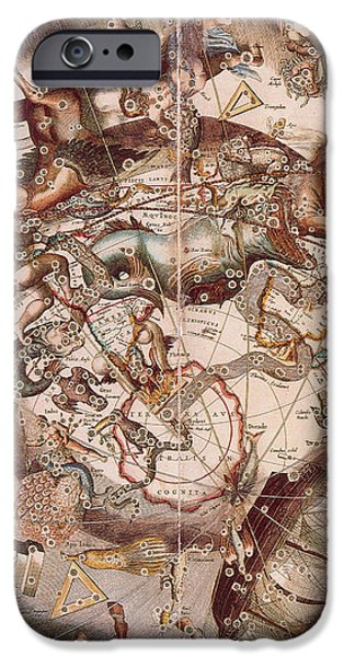 Cellariuss Constellations, 1660 iPhone Case by Science Source