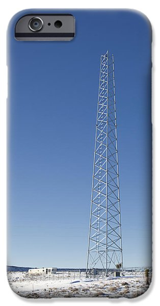 Cellphone Tower iPhone Case by David Buffington