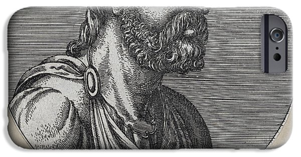 Caption iPhone Cases - Celsus, Roman Philosopher iPhone Case by Humanities & Social Sciences Librarynew York Public Library