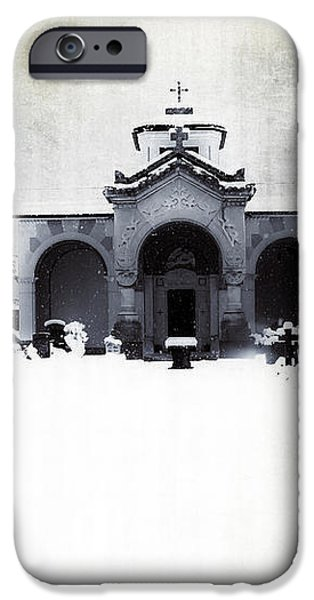 cemetery iPhone Case by Joana Kruse