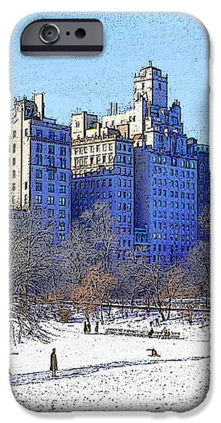 Central Park iPhone Case by Chuck Staley