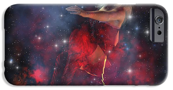 Stellar iPhone Cases - Cerces, The Daughter Of The Sun iPhone Case by Corey Ford