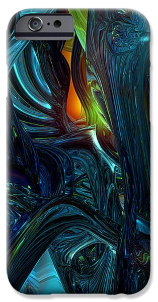 Certain Inner Peace Fx  iPhone Case by G Adam Orosco