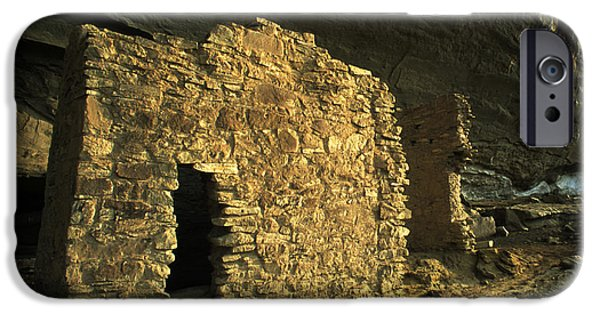 Chaco iPhone Cases - Chaco Canyon Treasure iPhone Case by Bob Christopher