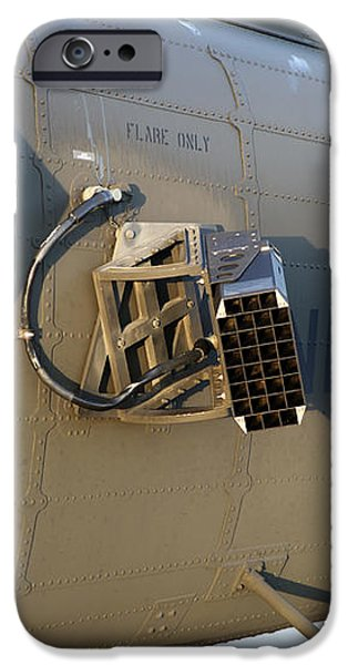 Chaff And Flare Dispensers On A U.s iPhone Case by Timm Ziegenthaler