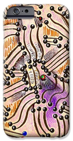 Asymmetrical Mixed Media iPhone Cases - Chamber Music iPhone Case by Al Goldfarb