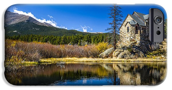 Chapel On The Rock iPhone Cases - Chapel on the Rock iPhone Case by Mark Bowmer