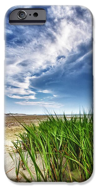 Cape Cod iPhone Cases - Chapin Beach iPhone Case by Rick Berk