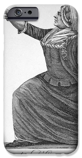 CHARLES DEON DE BEAUMONT iPhone Case by Granger