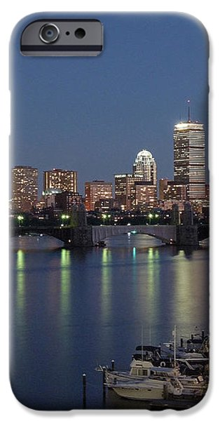 Charles River Yacht Club iPhone Case by Juergen Roth