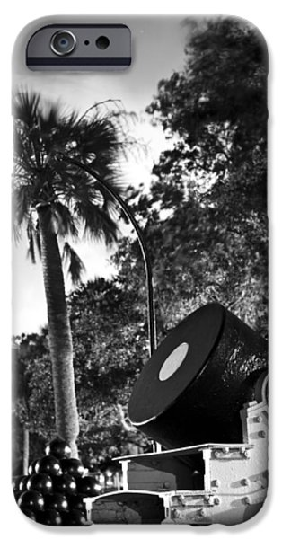 Canon iPhone Cases - Charleston Battery Mortar  iPhone Case by Dustin K Ryan