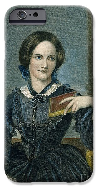 CHARLOTTE BRONTE iPhone Case by Granger