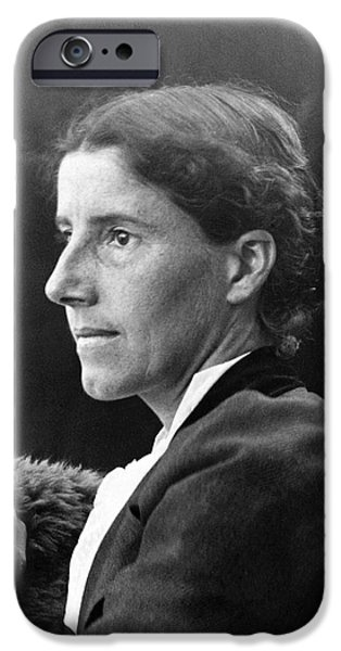 CHARLOTTE PERKINS GILMAN iPhone Case by Granger