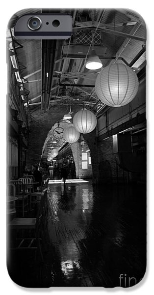 Chelsea Market interior iPhone Case by David Bearden