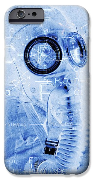 Chemical Warfare iPhone Case by Mehau Kulyk