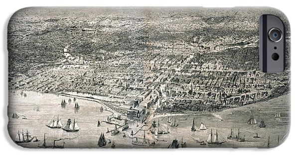 1871 iPhone Cases - Chicago, 1871 iPhone Case by Granger