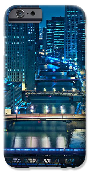 Sears Tower iPhone Cases - Chicago Bridges iPhone Case by Steve Gadomski