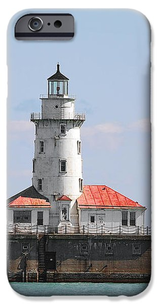 Chicago Harbor Lighthouse iPhone Case by Christine Till