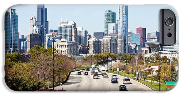 Lake Shore Drive iPhone Cases - Chicago Lake Shore Drive iPhone Case by Paul Velgos