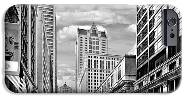 Interior Scene iPhone Cases - Chicago LaSalle Street iPhone Case by Christine Till