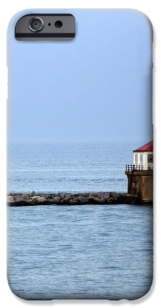 Chicago Lighthouse iPhone Case by Sophie Vigneault