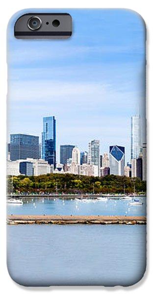 Chicago Panarama Skyline iPhone Case by Paul Velgos
