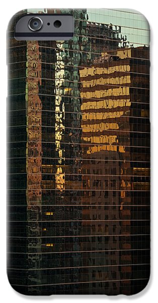 Sears Tower iPhone Cases - Chicago Reflected iPhone Case by Steve Gadomski