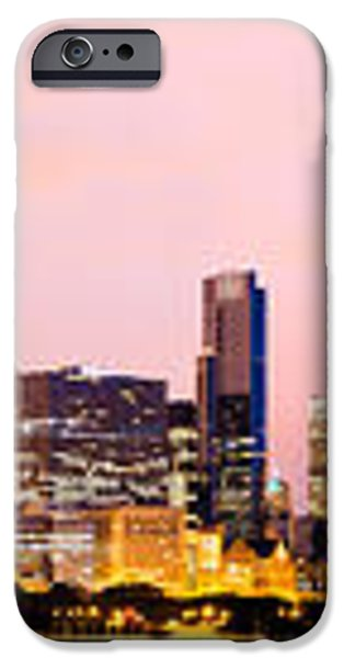 Chicago Skyline Panoramic iPhone Case by Paul Velgos
