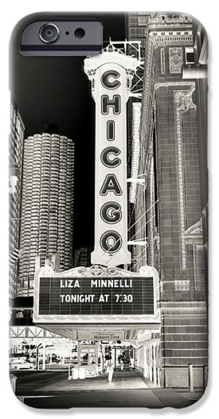 Ely Arsha iPhone Cases - Chicago Theater - 2 iPhone Case by Ely Arsha