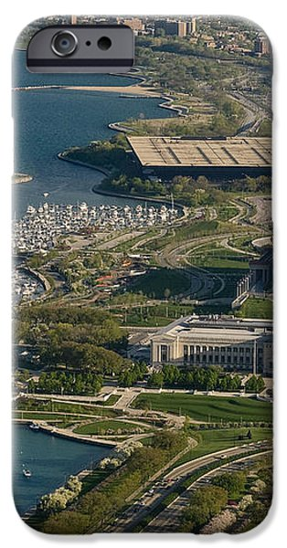 Chicagos Lakefront Museum Campus iPhone Case by Steve Gadomski