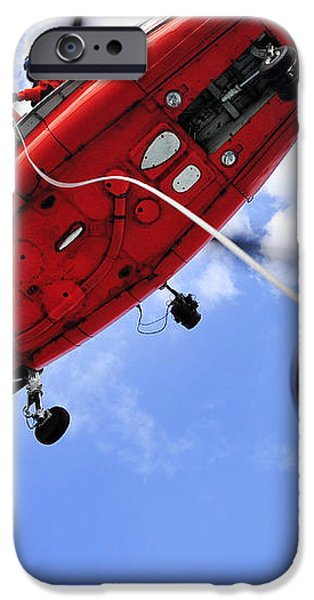 Chief Petty Officer Looks Out The Door iPhone Case by Stocktrek Images
