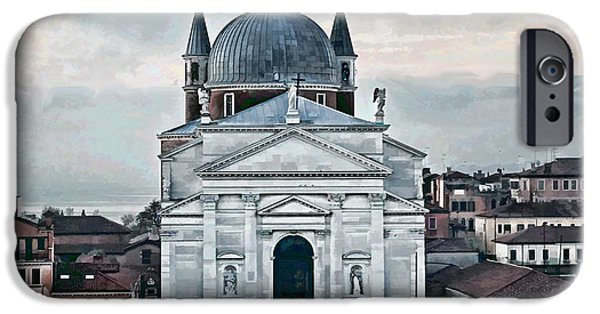 Artistic Photography iPhone Cases - Chiesa del Redentore Venice iPhone Case by Tom Prendergast