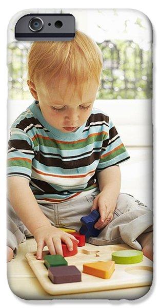 Childhood Development iPhone Case by Ian Boddy