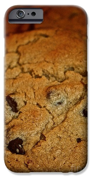 Favorite Cookies iPhone Cases - Chocolate Chip Comfort iPhone Case by Susan Herber