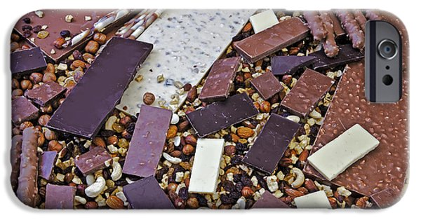Snack Bar iPhone Cases - Chocolate iPhone Case by Joana Kruse
