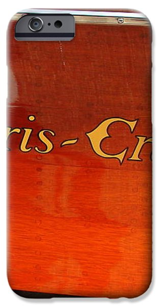 Chris Craft Logo iPhone Case by Michelle Calkins