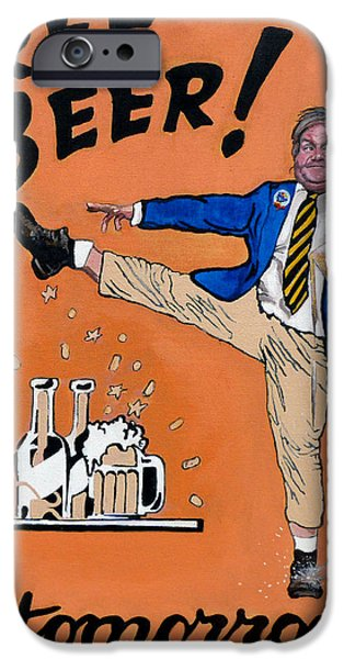 Chris Farley iPhone Case by Tom Roderick