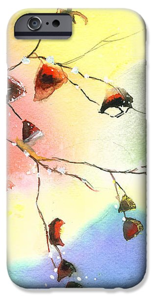 Christmas 1 iPhone Case by Anil Nene
