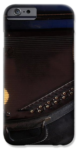 Chroma Harp iPhone Case by Viktor Savchenko