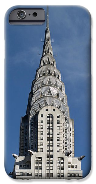 2007 iPhone Cases - Chrysler Building, 2007 iPhone Case by Granger