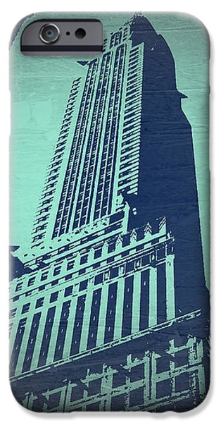 Chrysler Building  iPhone Case by Naxart Studio