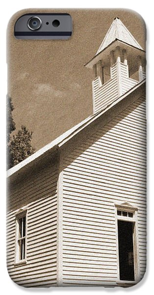 Church in the Mountains iPhone Case by Barry Jones