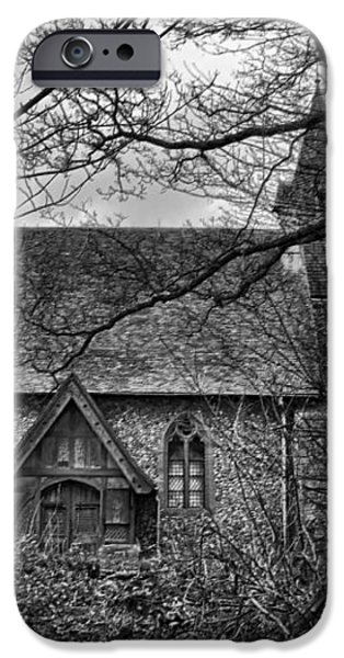 Church In The Woods iPhone Case by Dave Godden