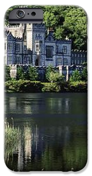 Church Near A Lake, Kylemore Abbey iPhone Case by The Irish Image Collection